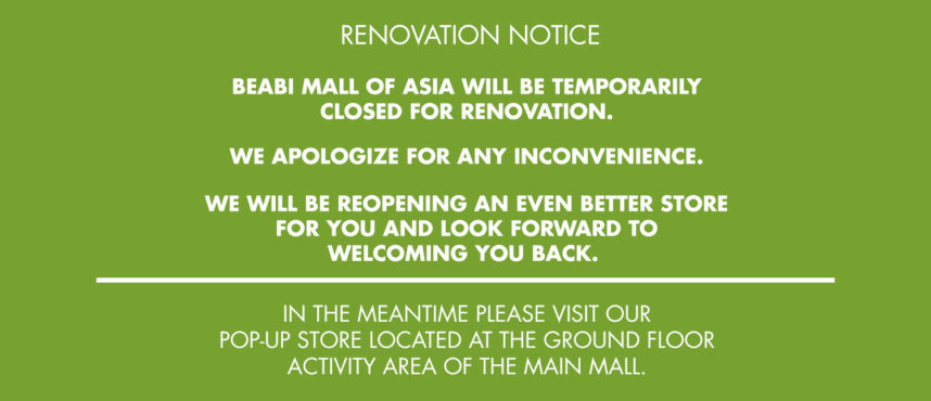 Beabi MOA Renovation