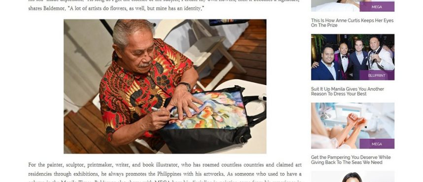 ONE MEGA: Beabi Collaborates With World-Class Artist Manuel Baldemor For Their Limited Edition Bags